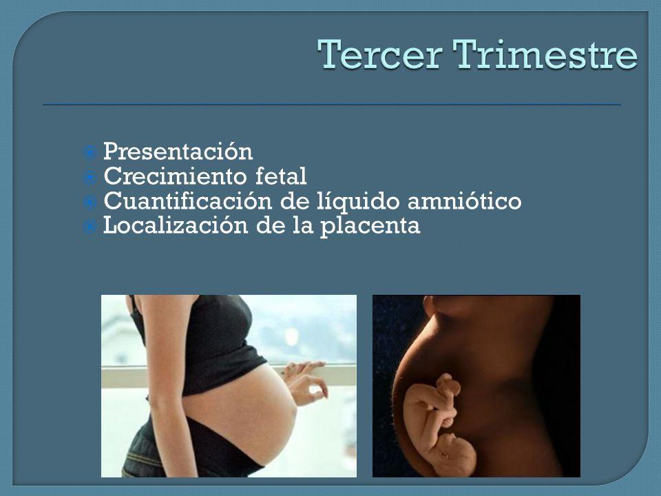 Tercer Trimestre Presentación Crecimiento fetal