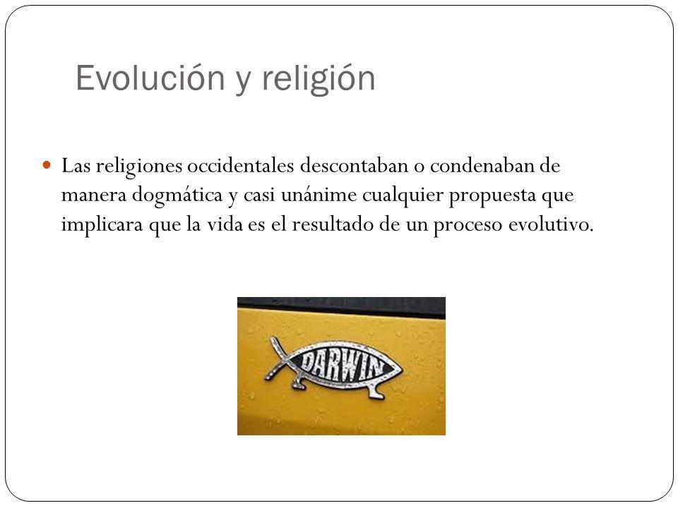 Evolución y religión