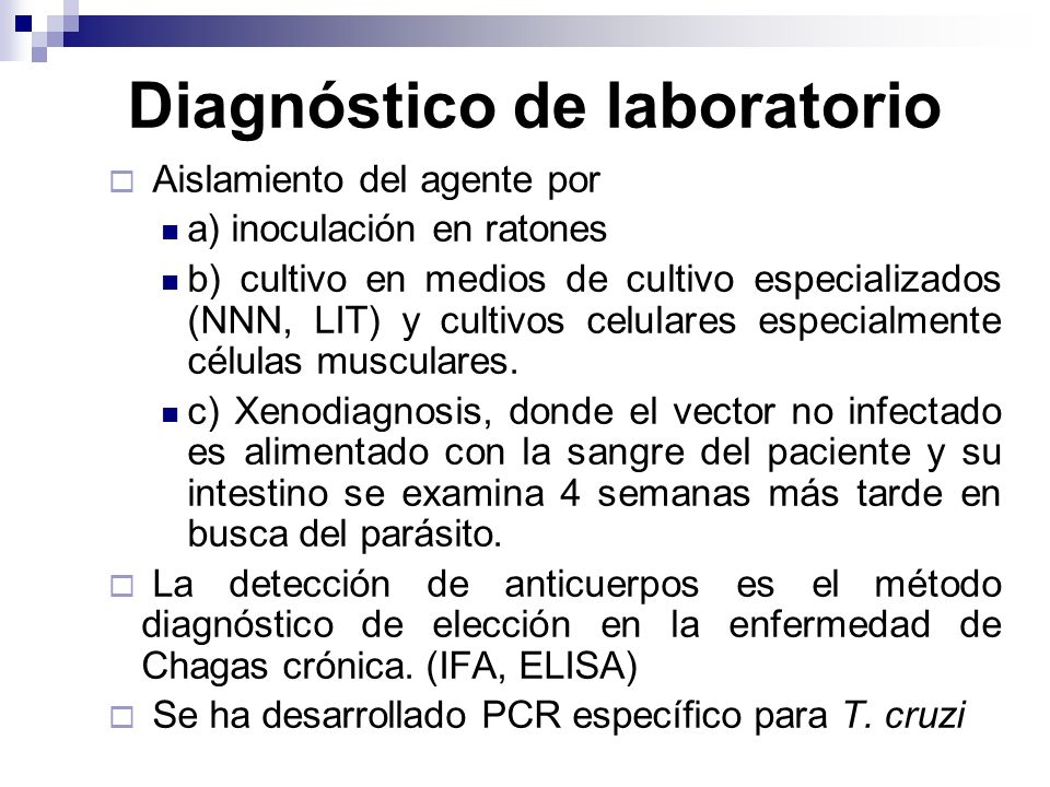 Diagnóstico de laboratorio