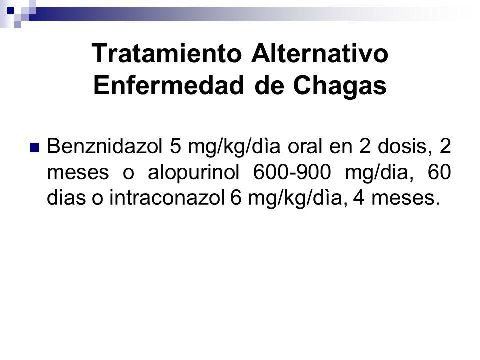 Tratamiento Alternativo Enfermedad de Chagas