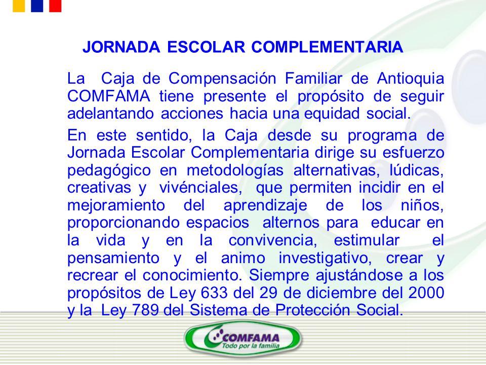 JORNADA ESCOLAR COMPLEMENTARIA