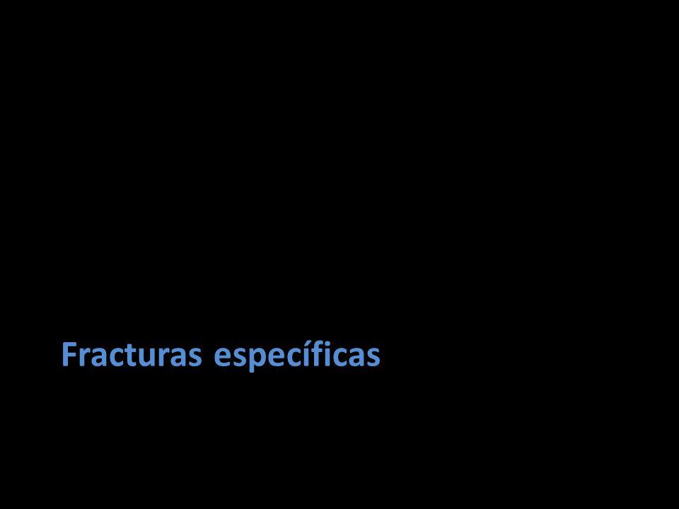 Fracturas específicas