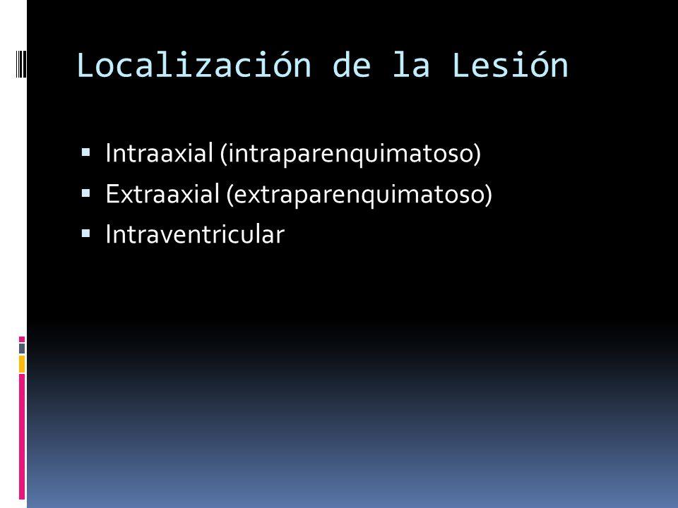 Localización de la Lesión