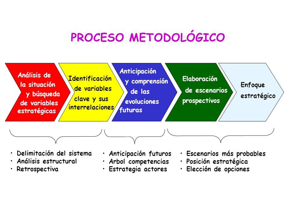 PROCESO METODOLÓGICO Anticipación y comprensión de las