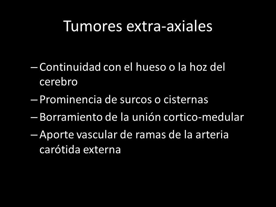 Tumores extra-axiales