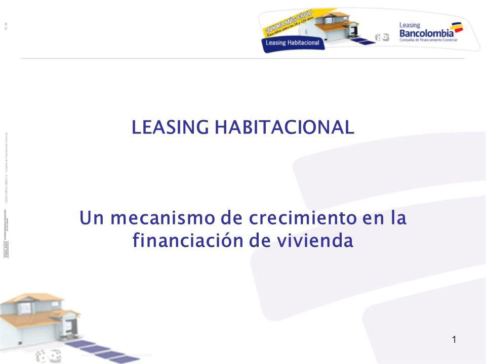 Un mecanismo de crecimiento en la financiación de vivienda