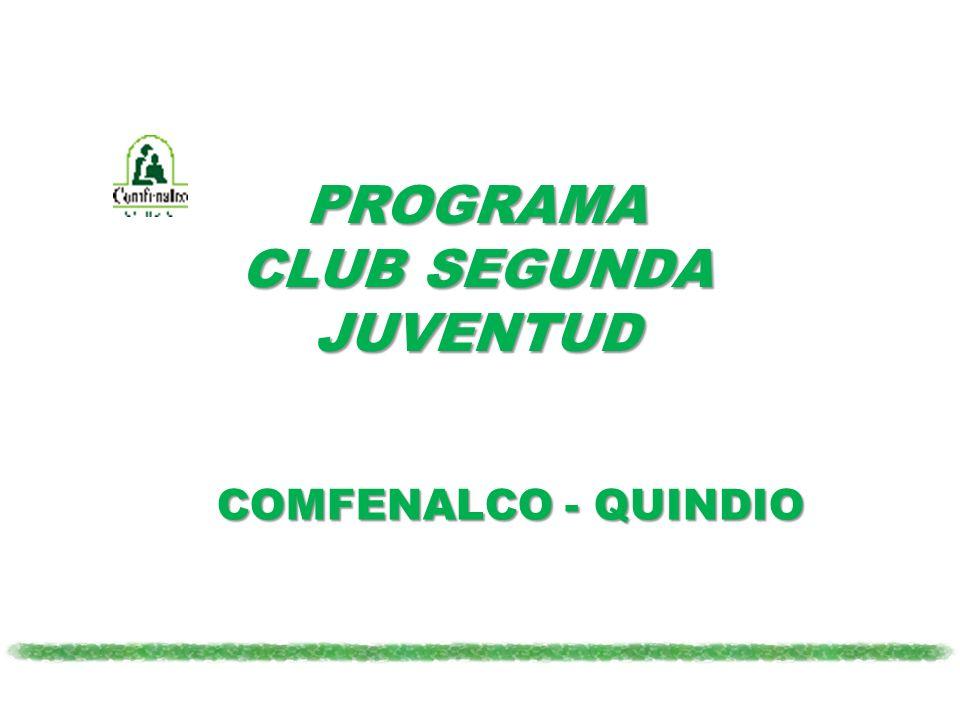 PROGRAMA CLUB SEGUNDA JUVENTUD