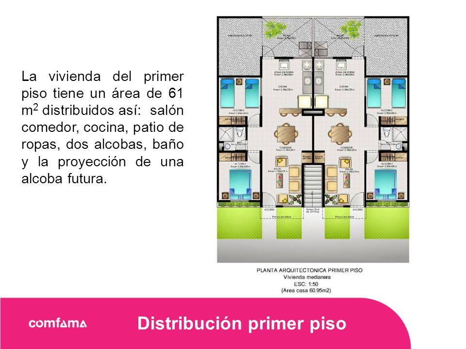 Distribución primer piso