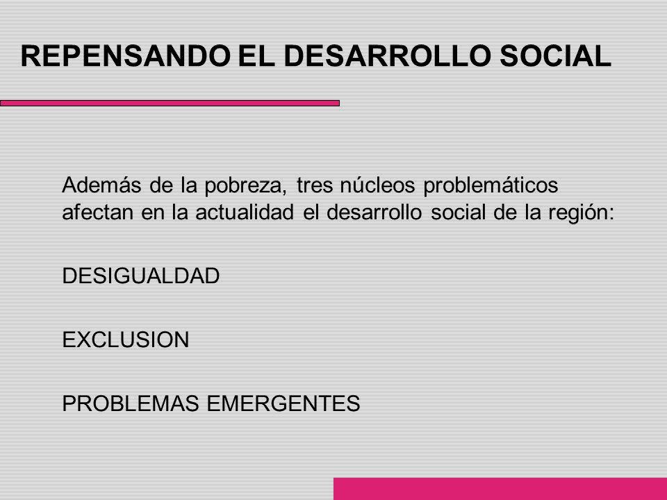 REPENSANDO EL DESARROLLO SOCIAL