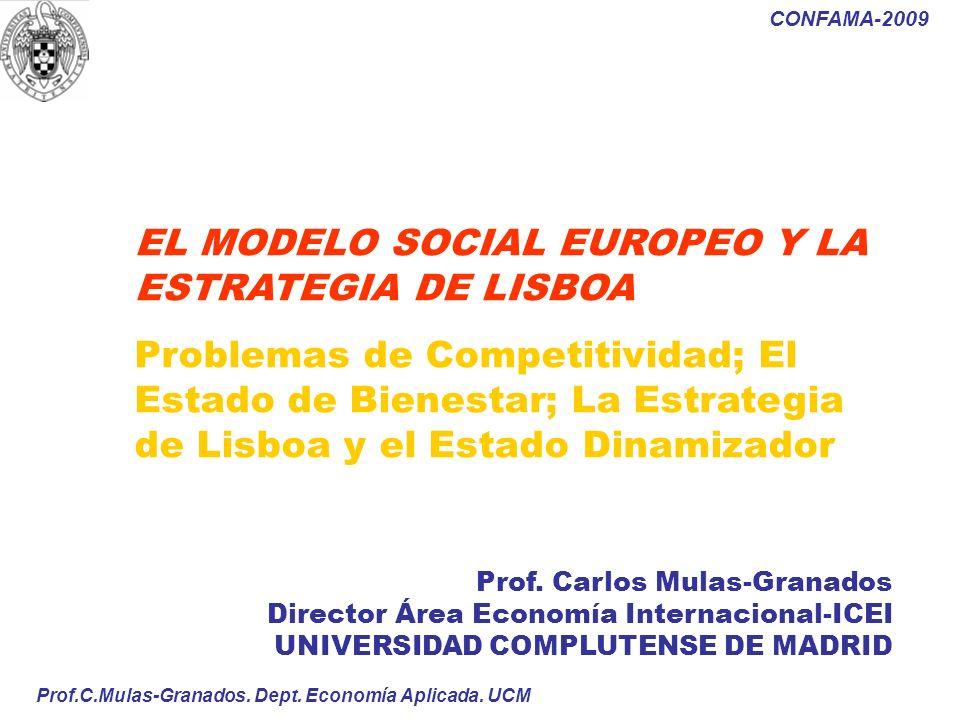 EL MODELO SOCIAL EUROPEO Y LA ESTRATEGIA DE LISBOA