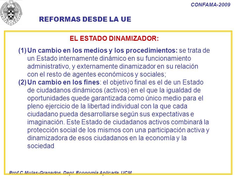EL ESTADO DINAMIZADOR:
