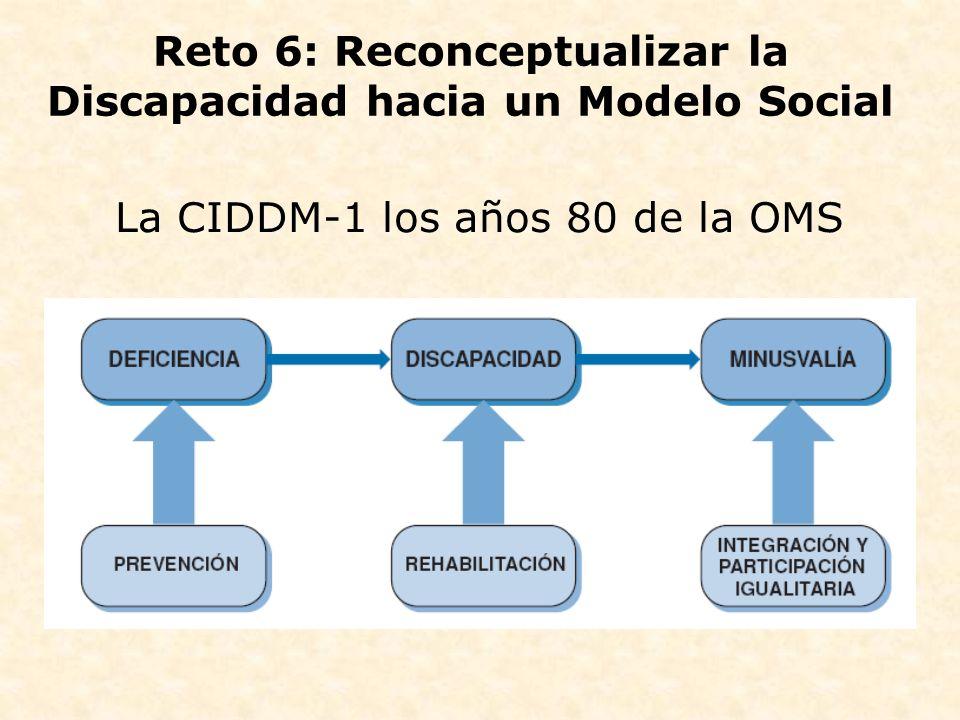 Reto 6: Reconceptualizar la Discapacidad hacia un Modelo Social
