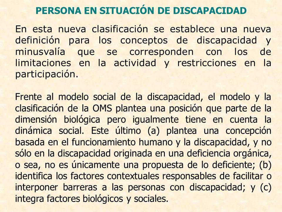 PERSONA EN SITUACIÓN DE DISCAPACIDAD