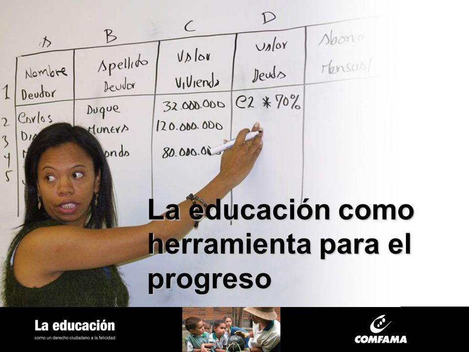 La educación como herramienta para el progreso