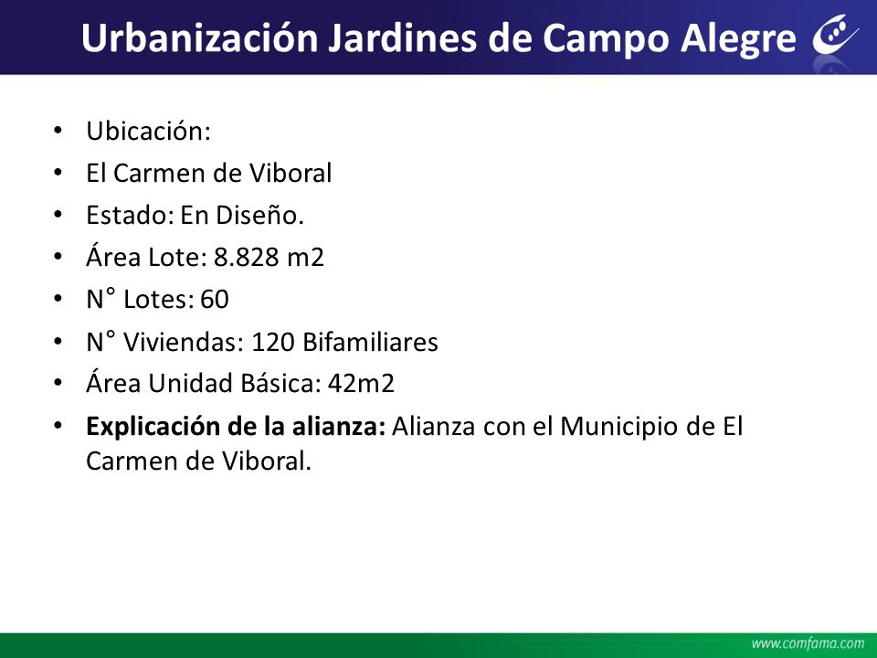 Urbanización Jardines de Campo Alegre