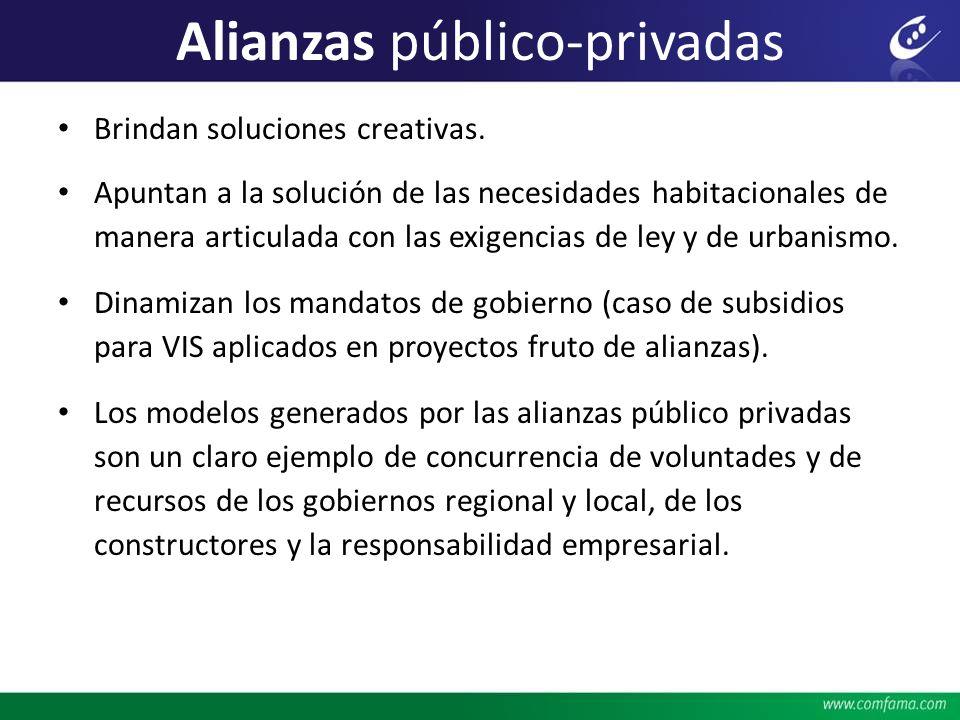 Alianzas público-privadas