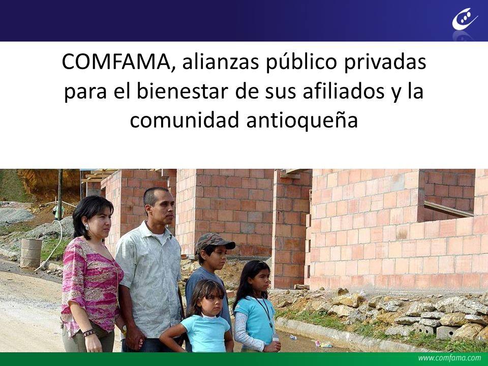 COMFAMA, alianzas público privadas para el bienestar de sus afiliados y la comunidad antioqueña