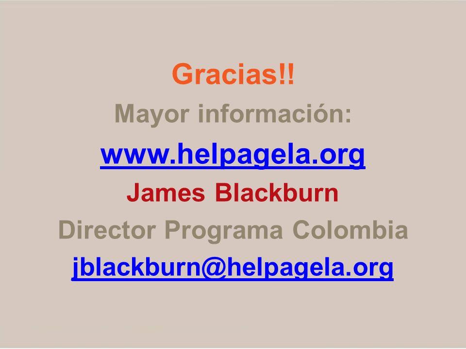 Director Programa Colombia