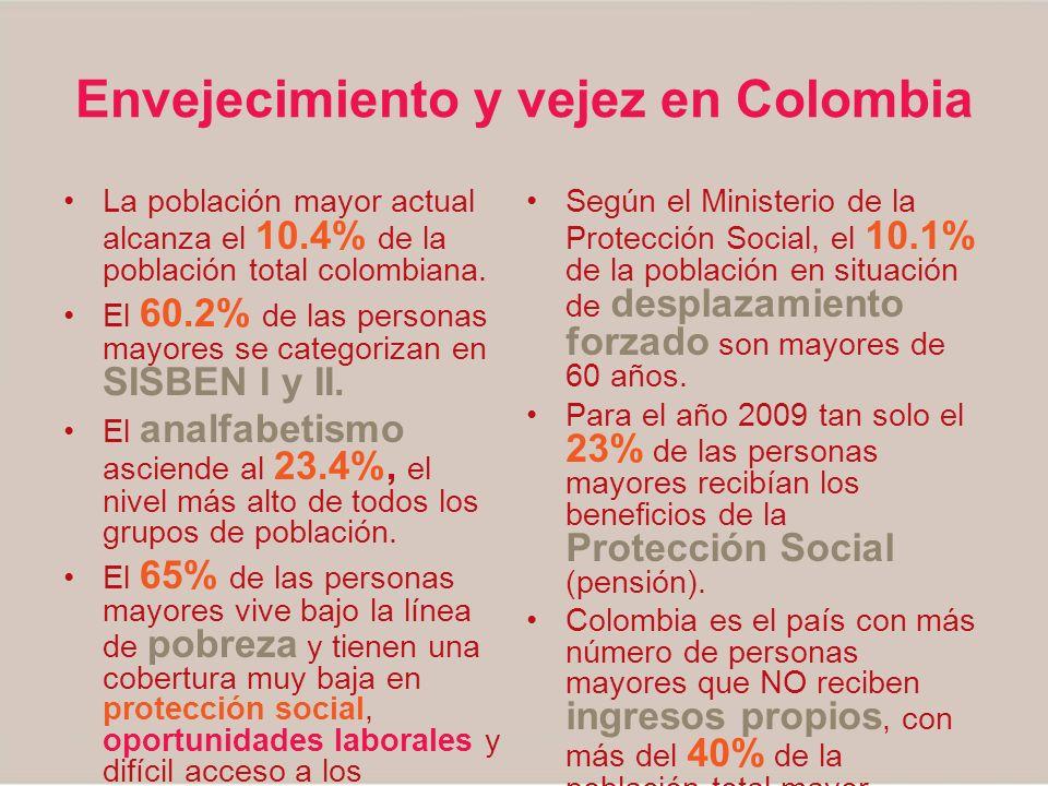 Envejecimiento y vejez en Colombia