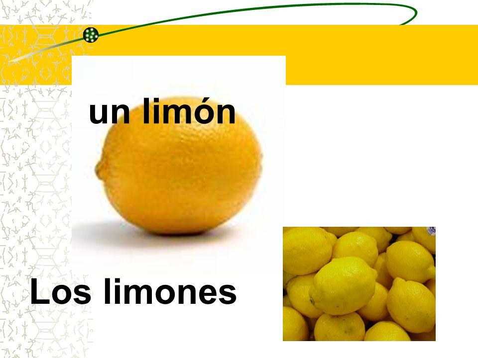 un limón Los limones