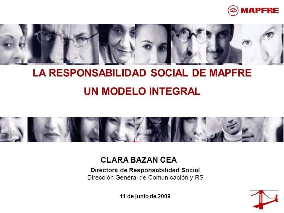 LA RESPONSABILIDAD SOCIAL DE MAPFRE