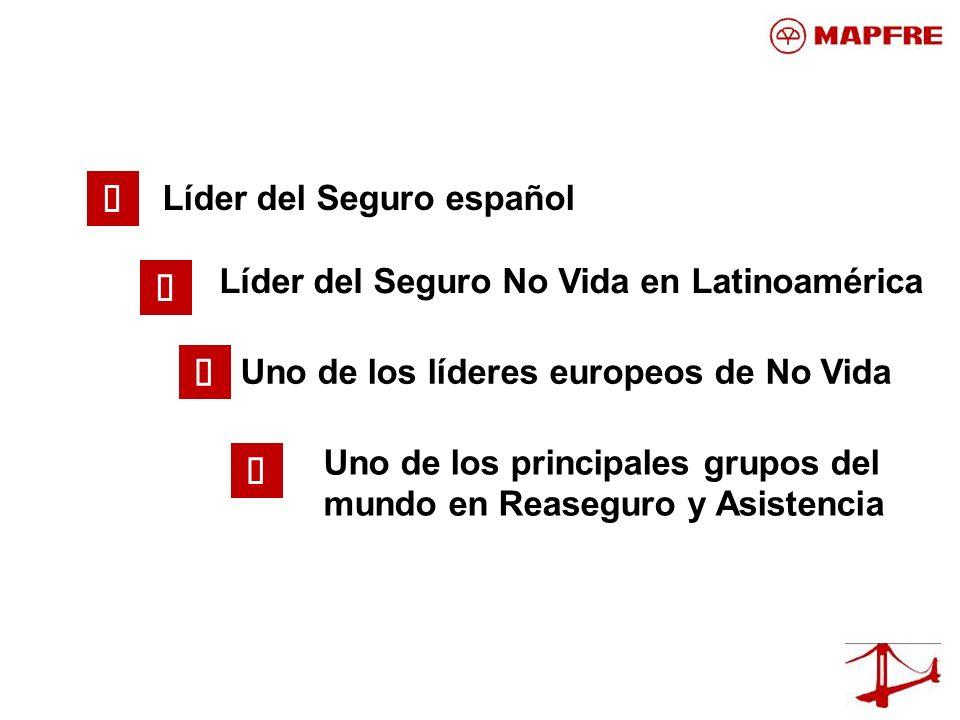 ü ü ü ü Líder del Seguro español