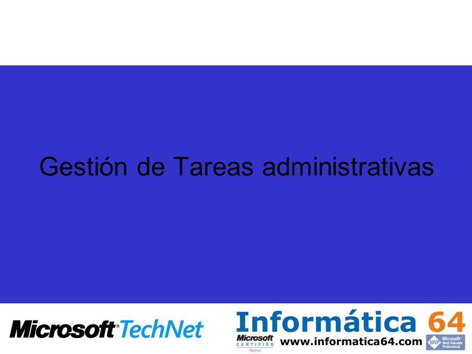 Gestión de Tareas administrativas