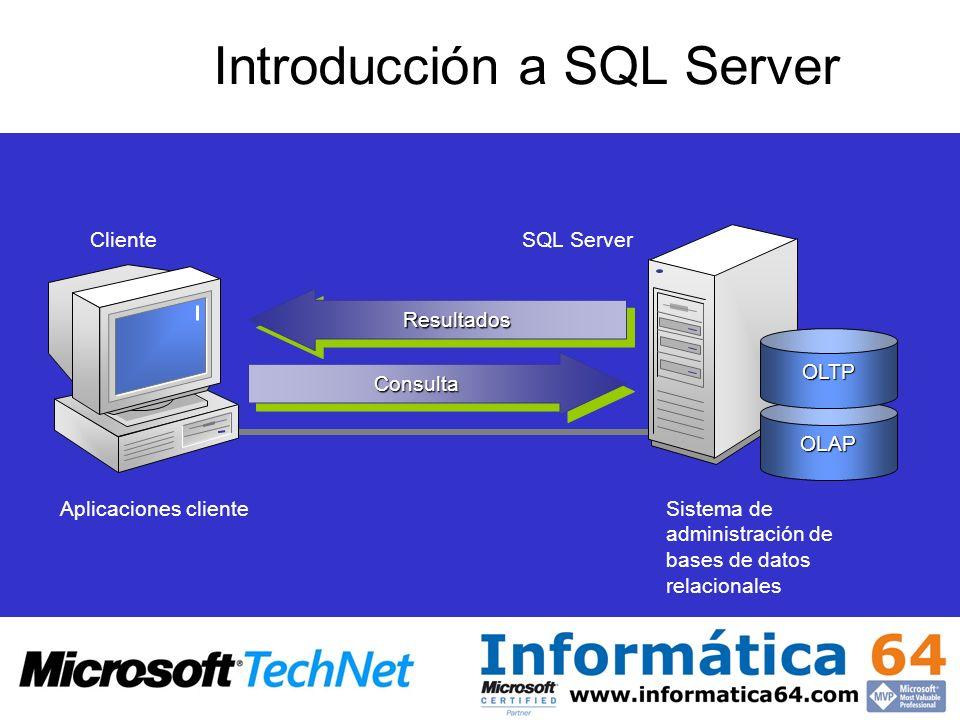 Introducción a SQL Server