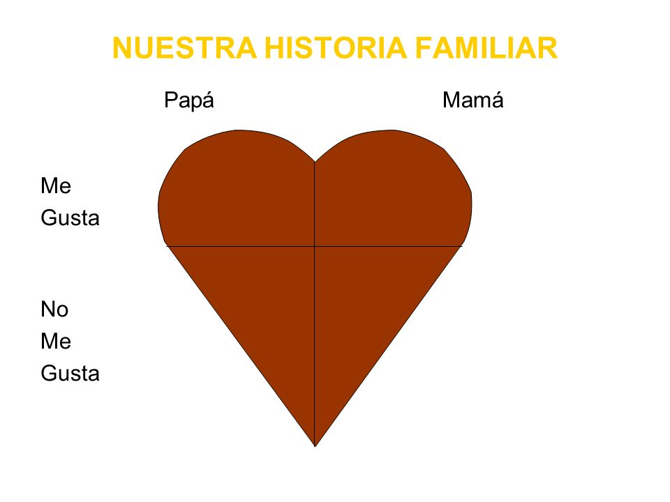 NUESTRA HISTORIA FAMILIAR