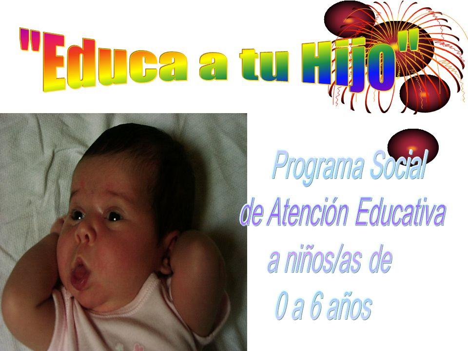 Programa Social de Atención Educativa a niños/as de 0 a 6 años