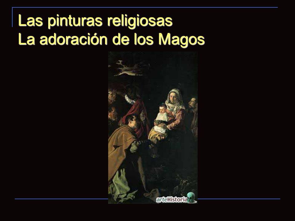 Las pinturas religiosas La adoración de los Magos