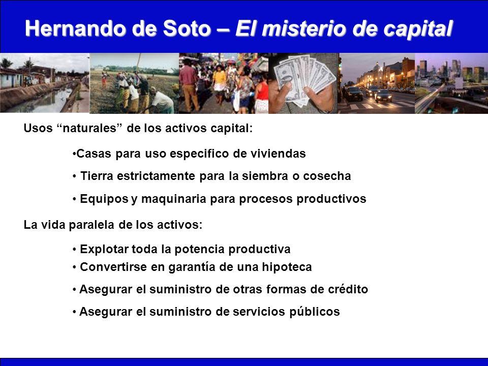Hernando de Soto – El misterio de capital
