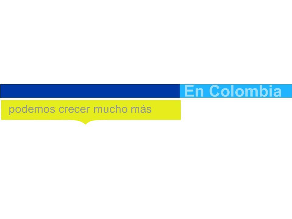 En Colombia podemos crecer mucho más