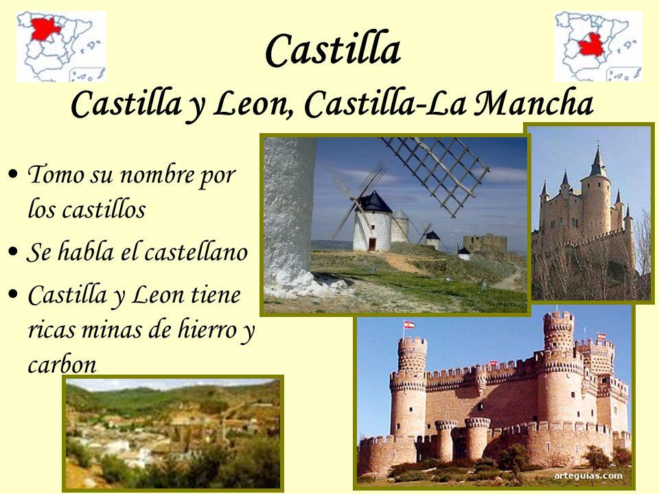 Castilla Castilla y Leon, Castilla-La Mancha