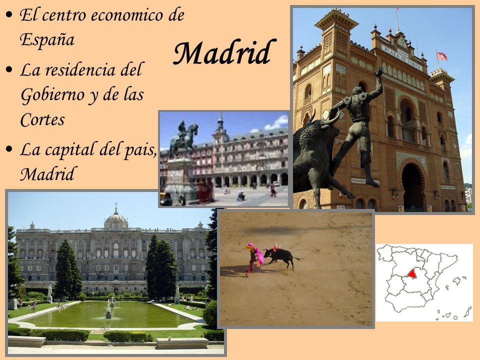 Madrid El centro economico de España