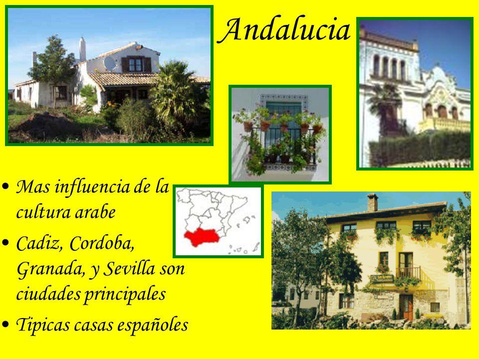 Andalucia Mas influencia de la cultura arabe