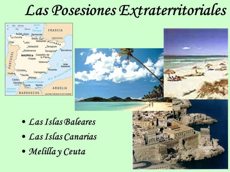 Las Posesiones Extraterritoriales