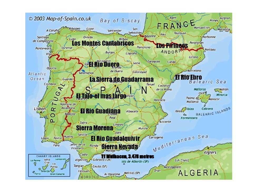 Los Montes Cantabricos Los Pirineos
