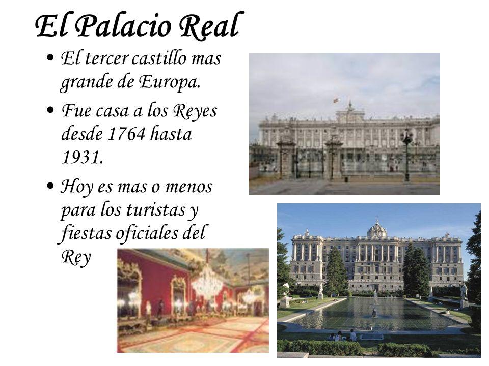El Palacio Real El tercer castillo mas grande de Europa.