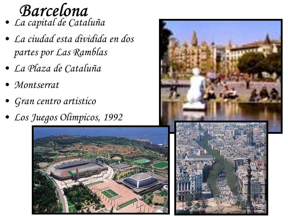 Barcelona La capital de Cataluña