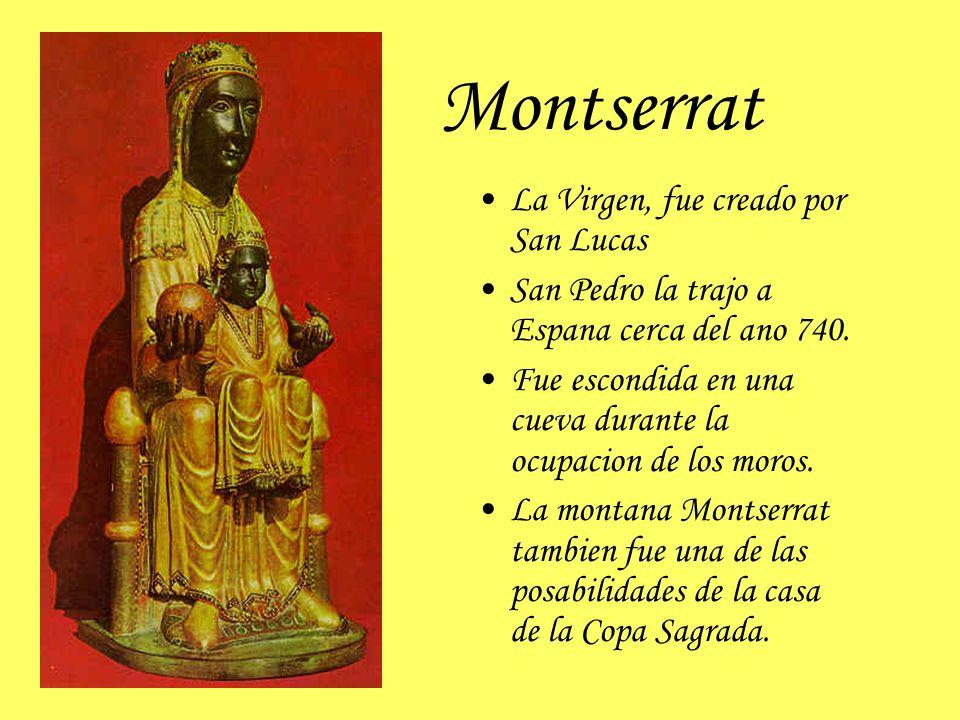 Montserrat La Virgen, fue creado por San Lucas