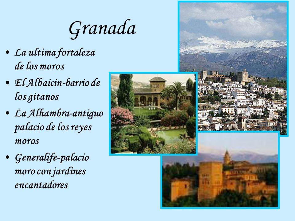 Granada La ultima fortaleza de los moros