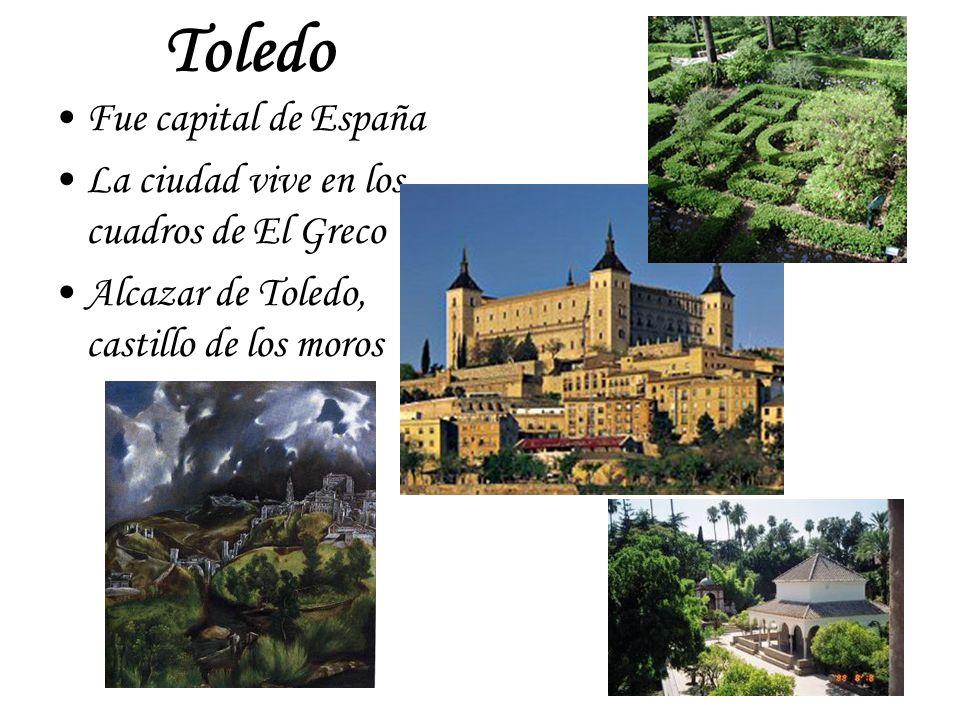 Toledo Fue capital de España La ciudad vive en los cuadros de El Greco