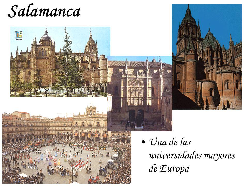 Salamanca Una de las universidades mayores de Europa