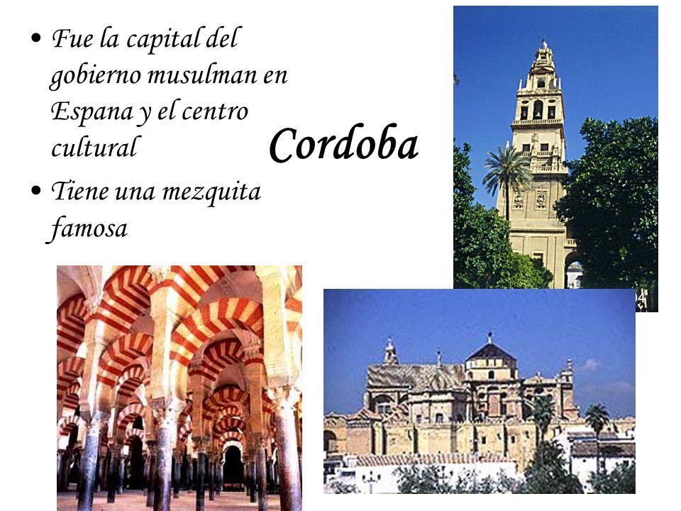 Fue la capital del gobierno musulman en Espana y el centro cultural
