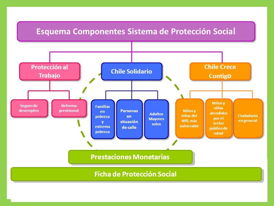 Esquema Componentes Sistema de Protección Social