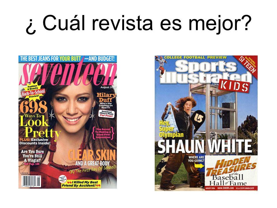 ¿ Cuál revista es mejor
