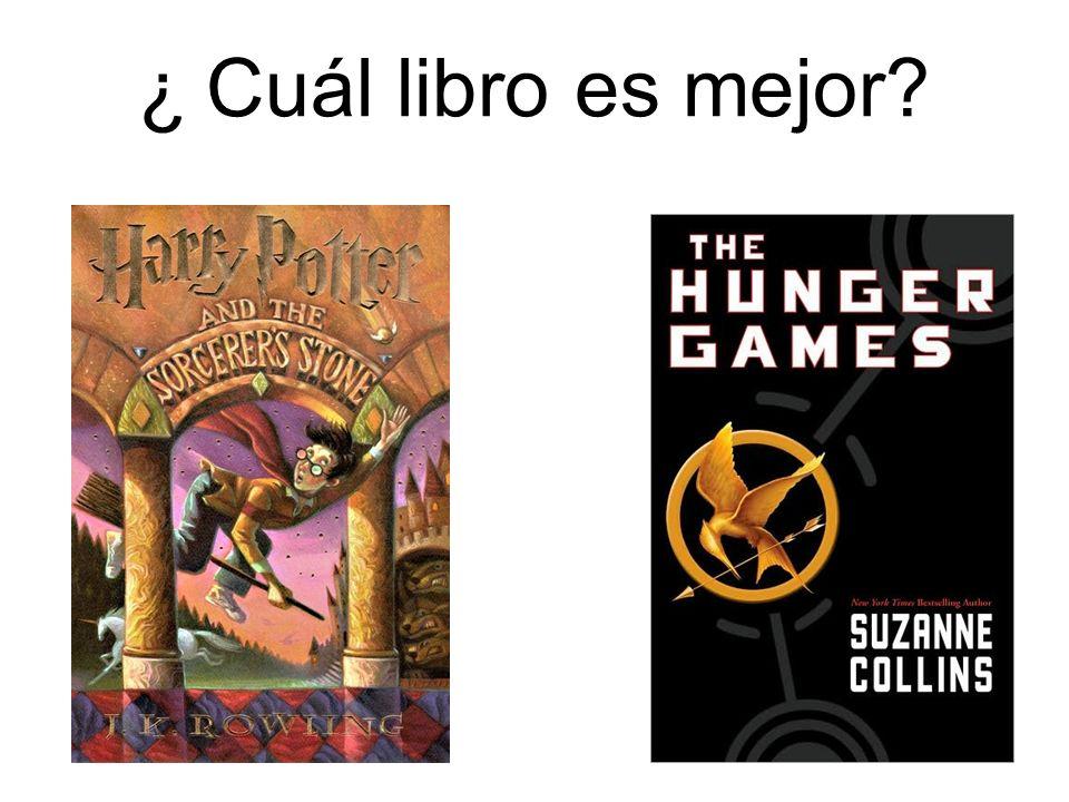 ¿ Cuál libro es mejor