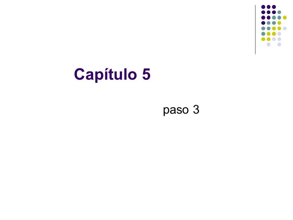 Capítulo 5 paso 3