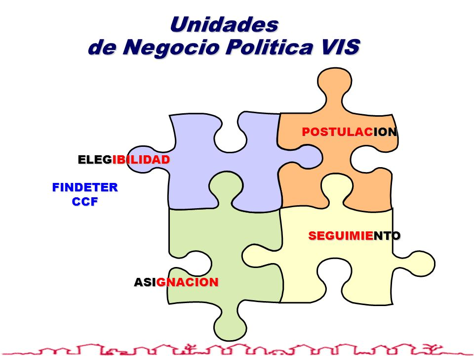 Unidades de Negocio Politica VIS